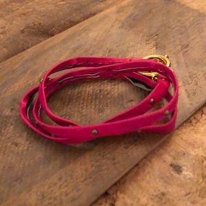 Gorjana Leather Wrap Bracelet